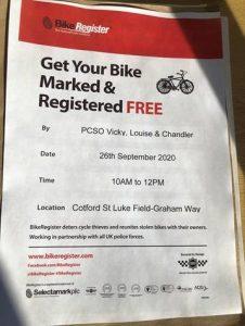 Bike Marking Event